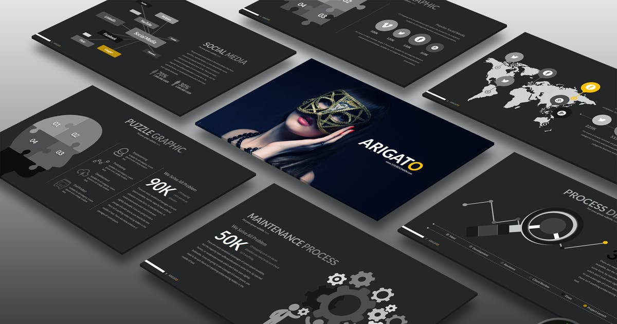 Download Arigato Powerpoint by Artmonk