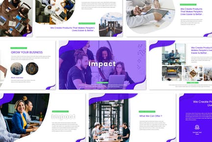 Impact - Keynote Templates