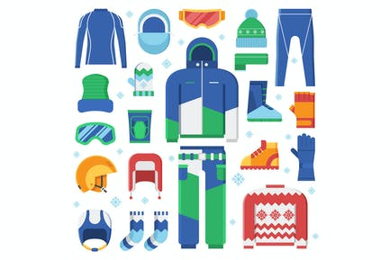 Winter Sport Clothes and Accessories