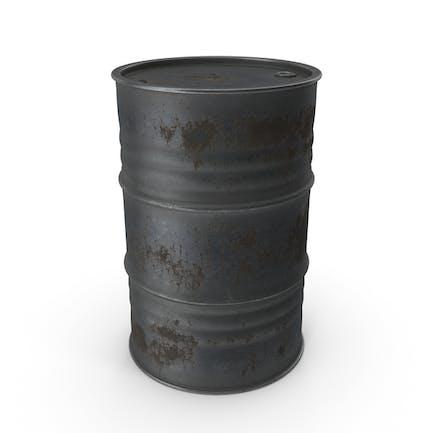 Metall-Fass Rostig