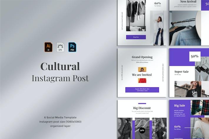 Thumbnail for Cultural - Social Media Post 05