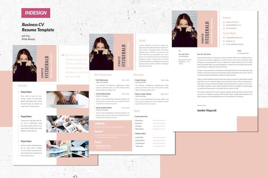 Multimedia Creative Resume  Vol.13