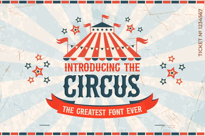 Thumbnail for The Circus Font