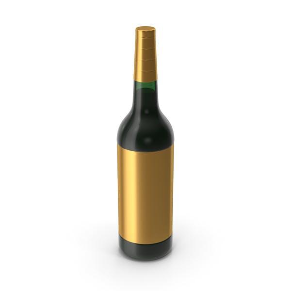 Бутылка вина Золото
