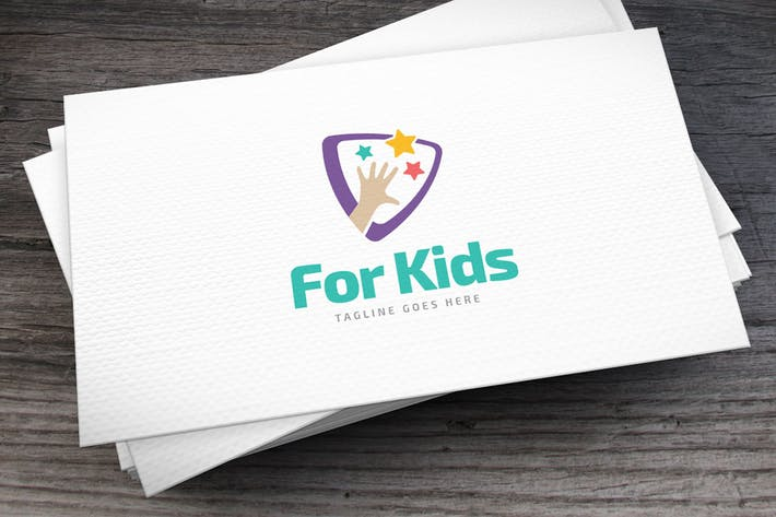 Thumbnail for For Kids Logo Template