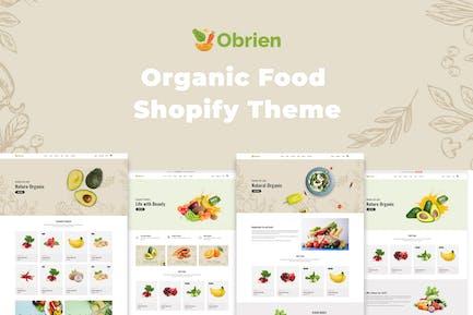 Obrien – Organic Food Shopify Theme