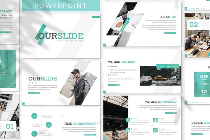 Thumbnail for Ourslide - Business Powerpoint Template