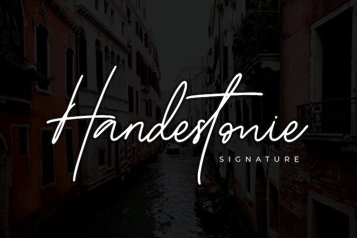 Handestonie - Police Signature