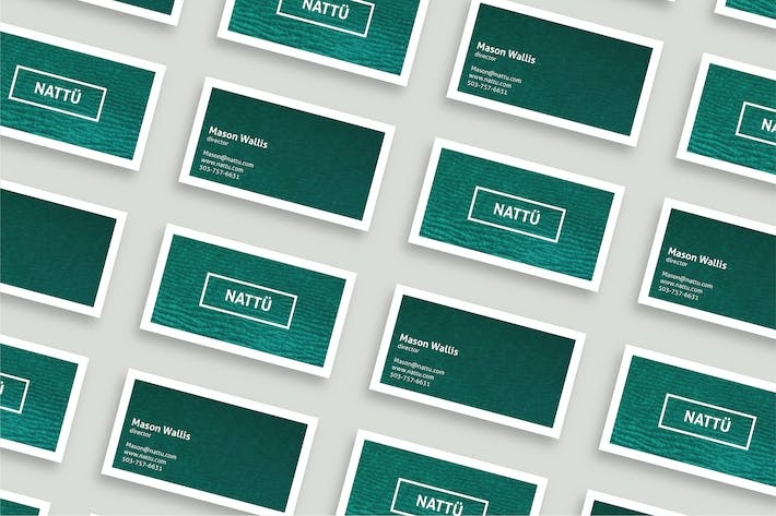 Thumbnail for NATTÜ - Business Card Template