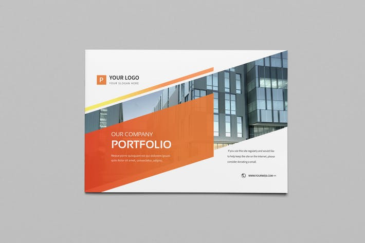 Thumbnail for Corporate Portfolio Brochure 18pages A5 horizontal