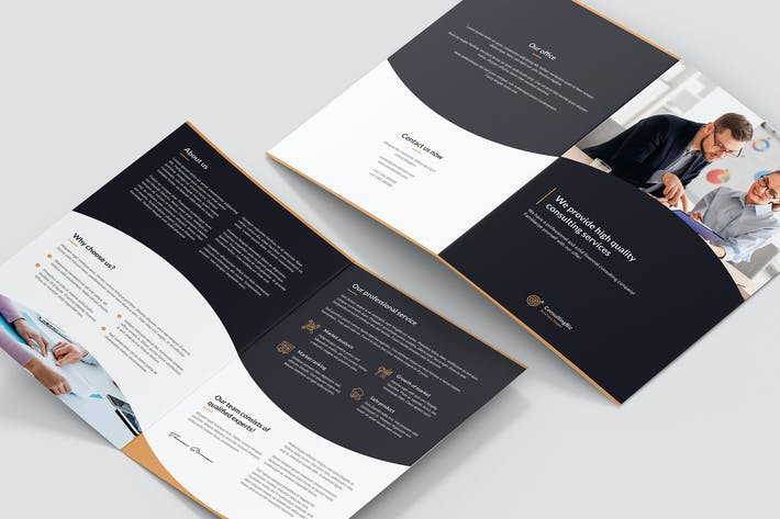 Thumbnail for Brochure – Business Consulting Bi-Fold