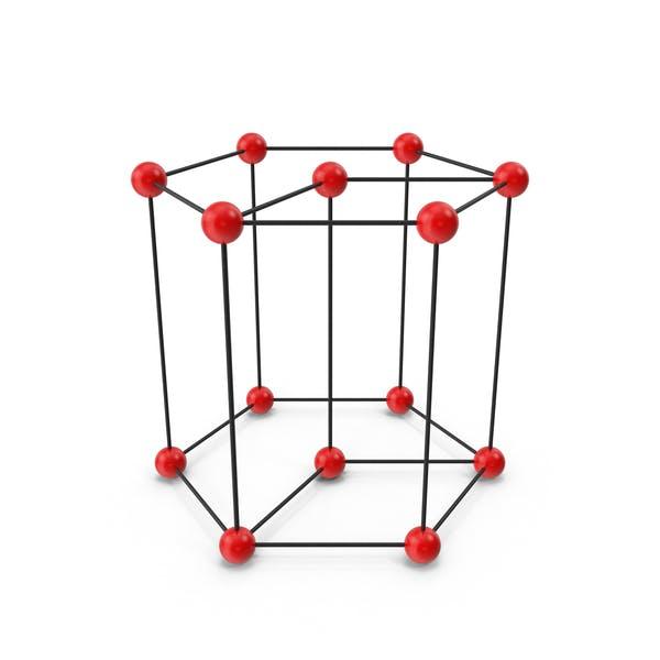 Hexagonal Crystal Lattice Structure