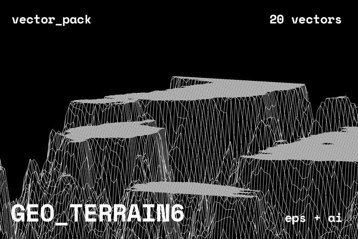 Thumbnail for GEO_TERRAIN6 Vector Pack