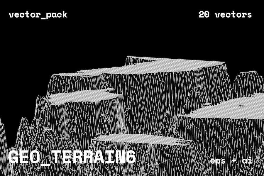 GEO_TERRAIN6 Vector Pack