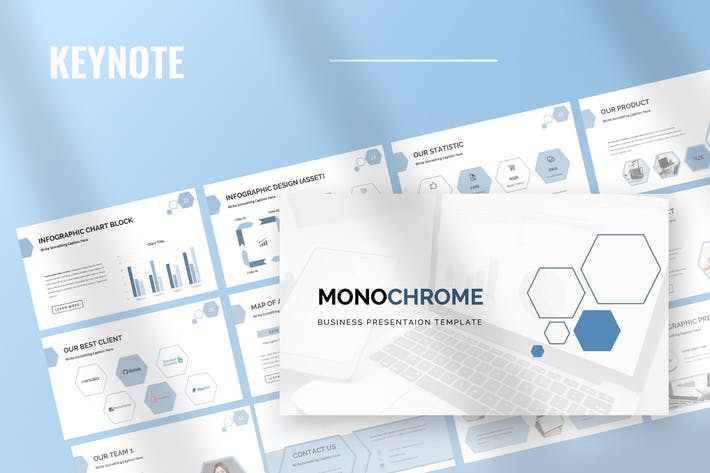 Monochrome - Keynote Presentation