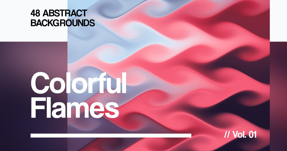 Download Colorful Flames   Abstract Backgrounds   Vol. 01 by devotchkah