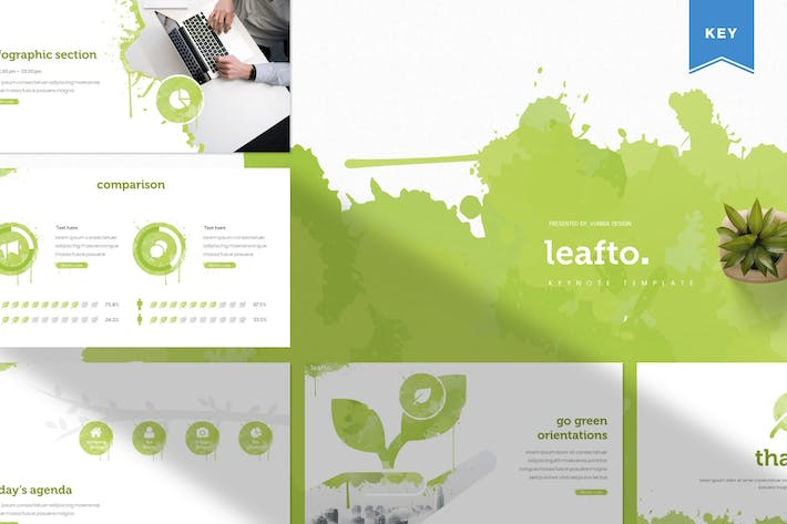 Thumbnail for Leafto | Keynote Template