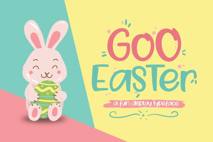 Cover Image For Goo Easter Font