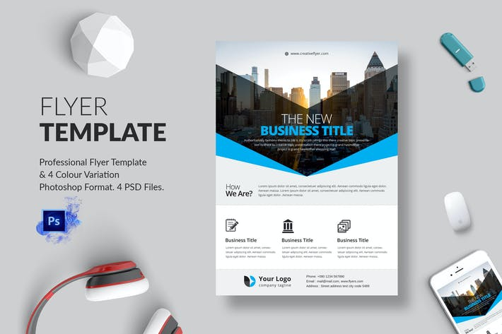 Thumbnail for Business Flyer Template 12