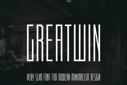 Greatwin Advertisement Font