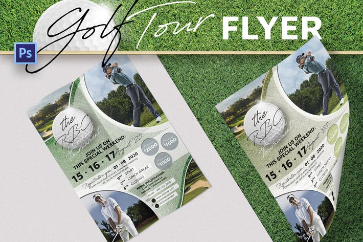 Thumbnail for Golf Championship Flyer