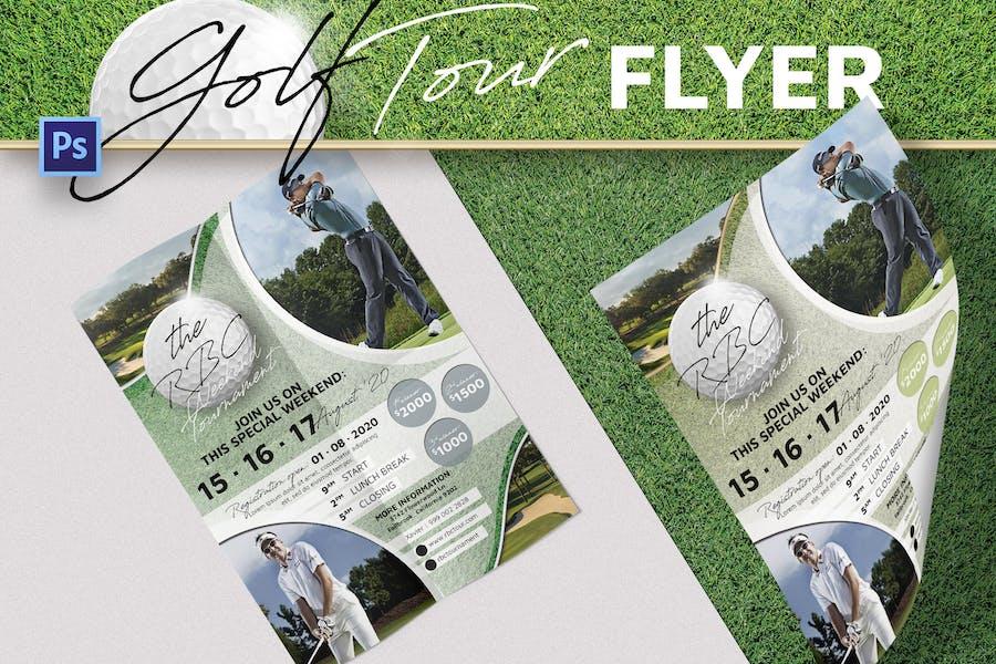 Golf Championship Flyer