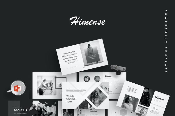 Thumbnail for Himense - Powerpoint Template