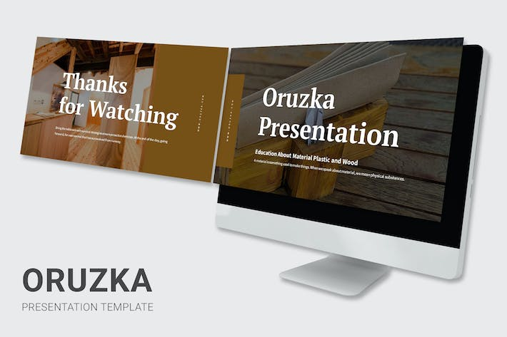 Thumbnail for Oruzka - Plastic and Wood Education Powerpoint