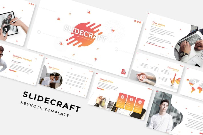 Thumbnail for Slidecraft - Keynote Template