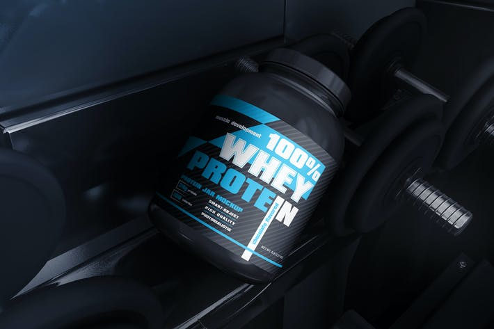 Thumbnail for Protein Jar Mockup