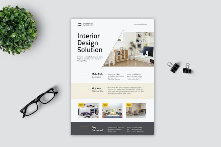 Thumbnail for Minimalist Interior Flyer