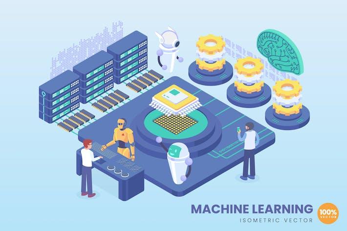Thumbnail for Isometrisches Machine Learning Konzept