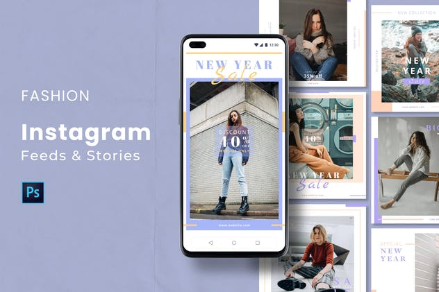 Fashion Instagram Feed & Stories