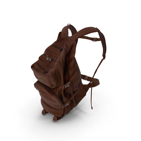 Camping Backpack Brown