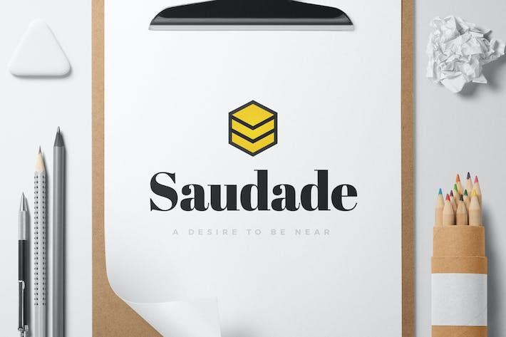 Thumbnail for Saudade logo template