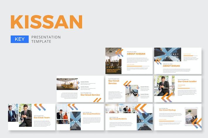 Thumbnail for Kissan Business - Keynote