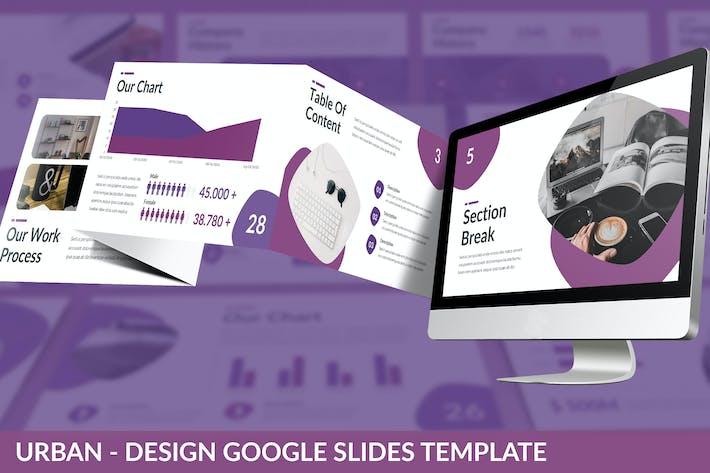 Thumbnail for Urban - Design Google Slides Template