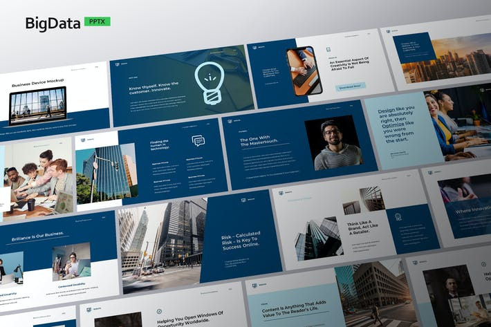 Big Data - Powerpoint Template
