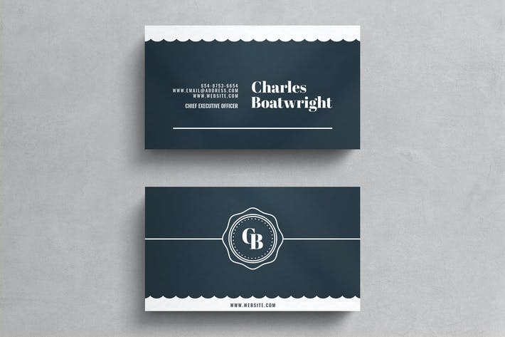 Thumbnail for Simple Business Card Template