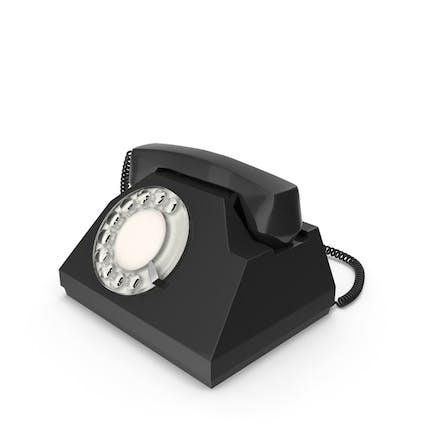 Spinner Negro Vintage Teléfono
