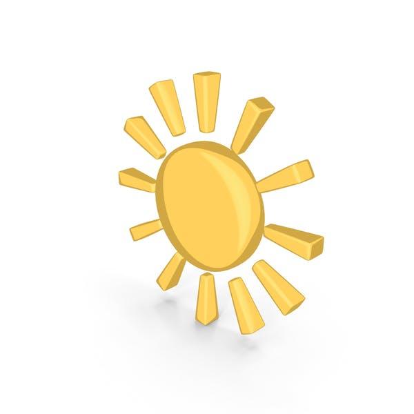 Cartoon Weather Forecast Sun