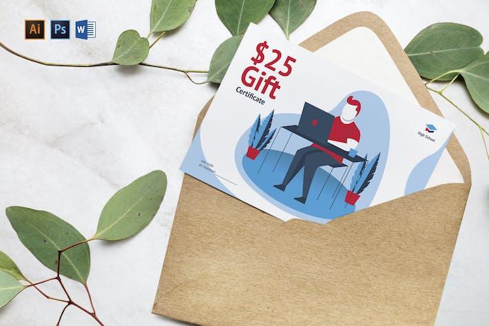 Thumbnail for Geschenkgutschein für Online-Kurse