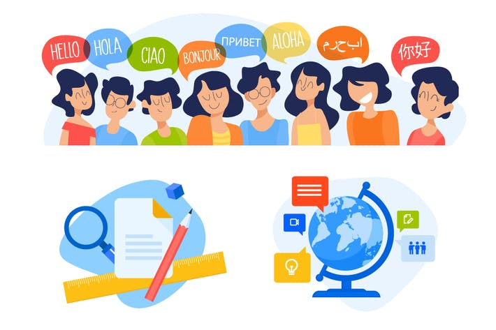 Thumbnail for Education illustrations