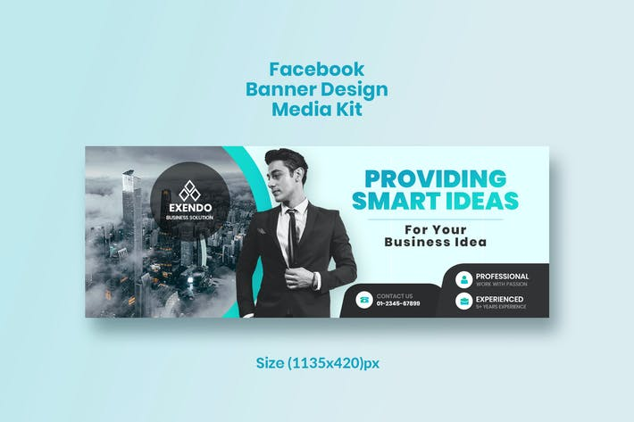 Thumbnail for Promotional Facebook Business Banner Design