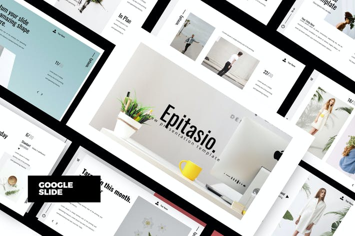 Thumbnail for EPITASIO - Clean Google Slide Business Company