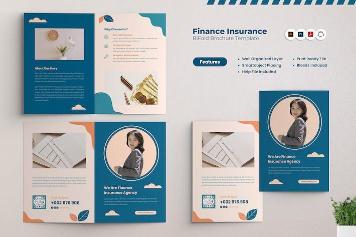Brochure Bifold sur l'assurance financière