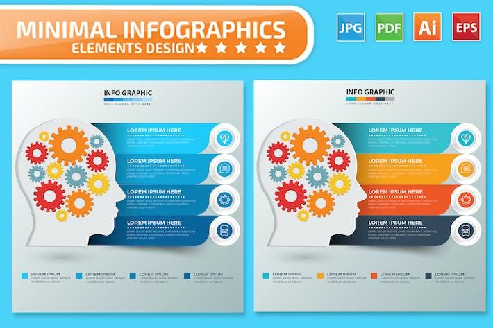 Thumbnail for Creative Infographics design