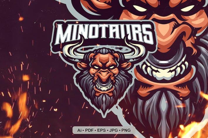 Thumbnail for Logo Minotaurs Esports et Sport