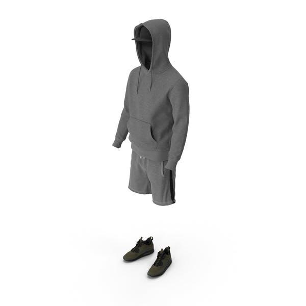 Men's Shorts Hoodie Sneakers T-Shirt Cap