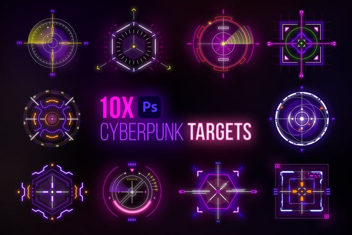 Thumbnail for Cyberpunk Target Elements
